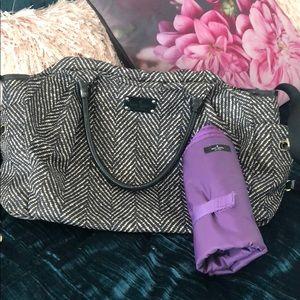 Kate Spade Herringbone Diaper Bag